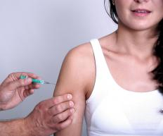 Lockjaw, or tetanus, can be prevented by being vaccinated.