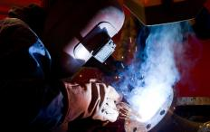 A variety of industries hire welders.