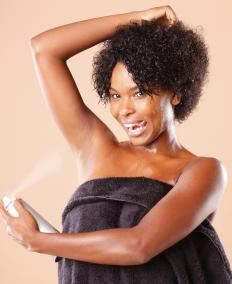 Liquid deodorants suppress bacteria growth and control body odor.