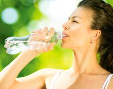 Staying hydrated may help control constipation and manage hemorrhoids.
