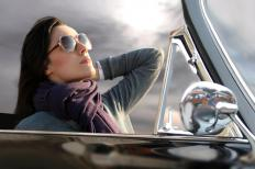 Status symbols like expensive cars are symbols of consumerism.