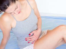 Menstruation is a common cause of a sore uterus.