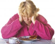 People suffering from Crocodile Tears Syndrome may begin to cry while eating.