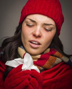 Blood parasites may cause flu-like symptoms at early onset, including fever and chills.