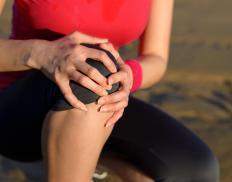 An injury may cause joint pain at night.