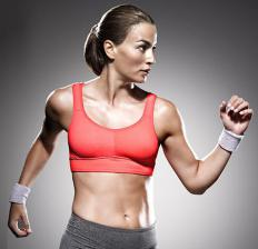 Tactel fibers are used in a vast collection of women's clothing, including sportswear.