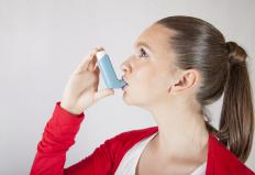 A tickly cough caused by asthma usually can be treated with an inhaler.