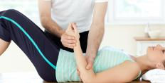 Physical therapy may be a treatment option for torn cartilage.