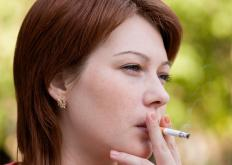 Emphysema is associated with smoking.