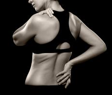 Residual back pain is an example of a chronic medical condition.