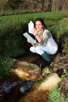 Geographers might combine information on natural fauna with topographic data to create a report about an endangered wetland.
