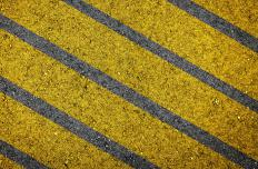 Titanium white may be found in road-marking paints.