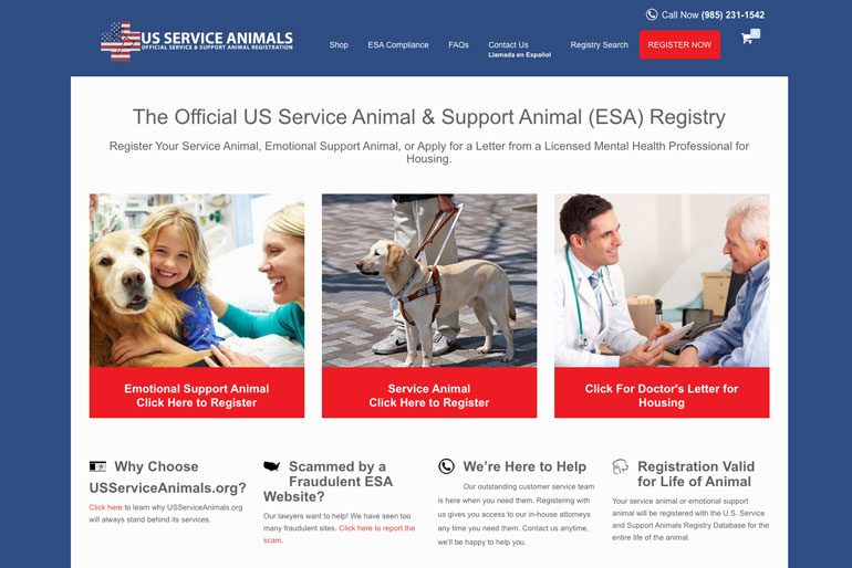 US Service Animals