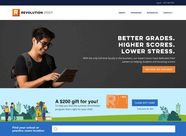 Revolution Prep math tutors