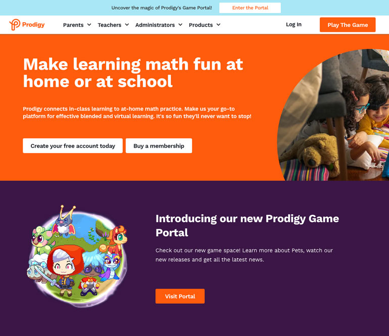 Prodigy math tutors