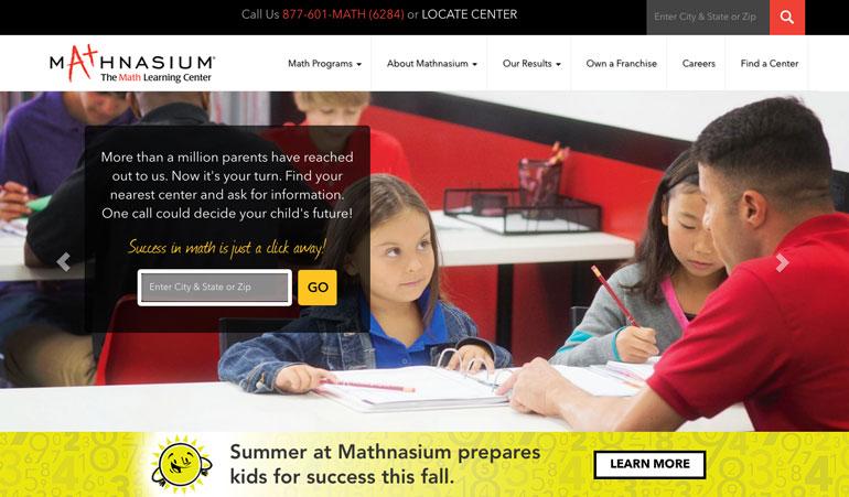 Mathnasium tutors